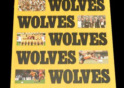 Wolves v Scarborough 19.02.1988