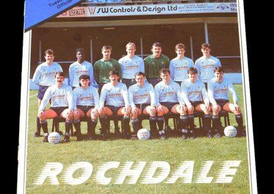 Wolves v Rochdale 01.03.1988