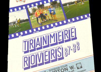 Wolves v Tranmere 04.03.1988