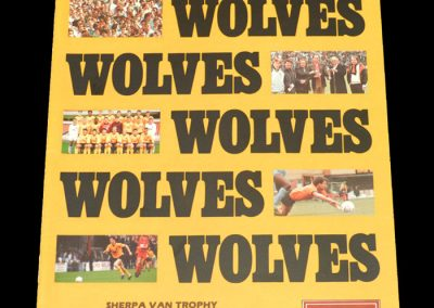 Wolves v Torquay 08.03.1988 - FA Trophy Southern Semi Final