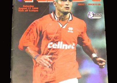Middlesbrough v Liverpool 17.08.1996 - Ravenelli scores 3
