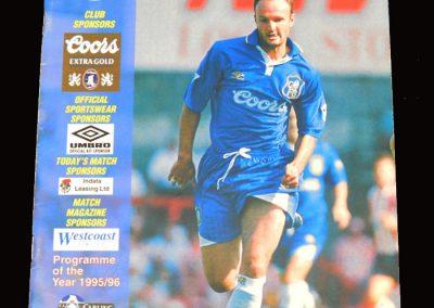 Middlesbrough v Chelsea 21.08.1996