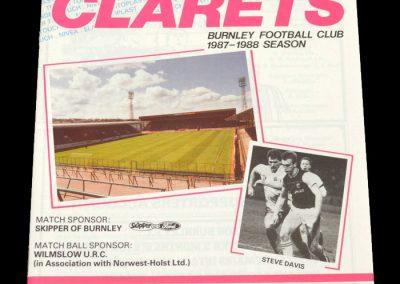 Wolves v Burnley 02.04.1988