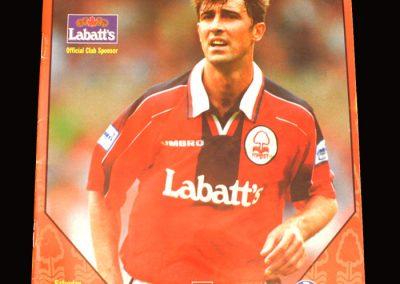 Middlesbrough v Notts Forest 24.08.1996