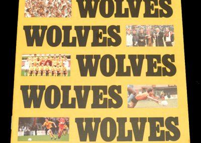 Wolves v Colchester 04.04.1988