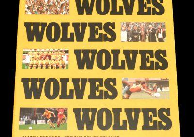 Wolves v Notts County 19.04.1988 - FA Trophy South Final 2nd Leg