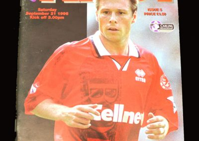 Middlesbrough v Arsenal 21.09.1996