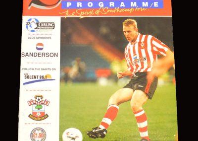 Middlesbrough v Southampton 28.09.1996