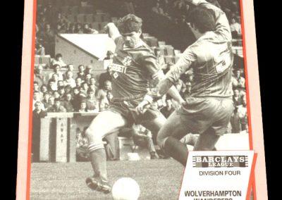 Wolves v Leyton Orient 07.05.1988