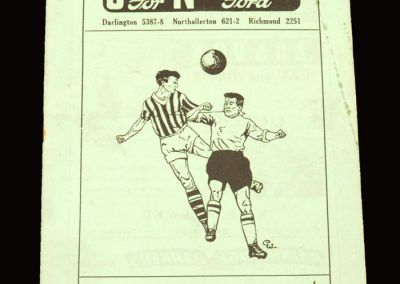Darlington v Aldershot 24.08.1959