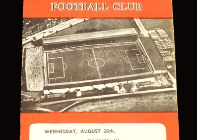 Swindon v Barnsley 26.08.1959
