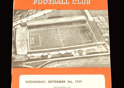 Swindon v Grimsby 09.09.1959
