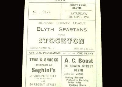 Blyth v Stockton 19.09.1959