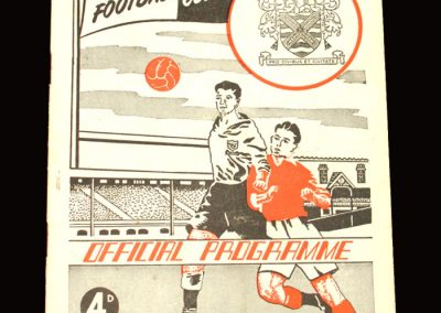 Fulham v Notts Forest 03.10.1959