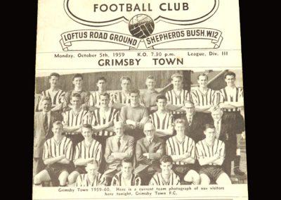 QPR v Grimsby 05.10.1959
