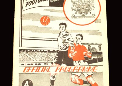 Fulham v Newcastle 17.10.1959