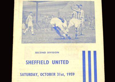 Huddersfield v Sheff Utd 31.10.1959