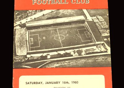 Swindon v Coventry 16.01.1960