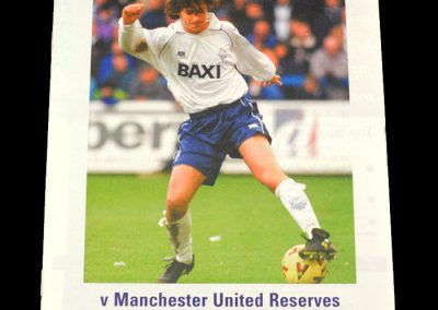 Man Utd Reserves v Preston Reserves 08.02.1999