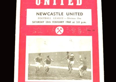 West Ham v Newcastle 20.02.1960
