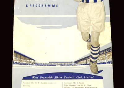 West Brom v Everton 19.03.1960