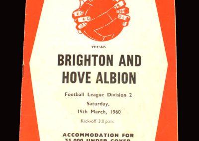Sheff Utd v Brighton 19.03.1960