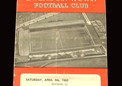 Swindon v Colchester 09.04.1960