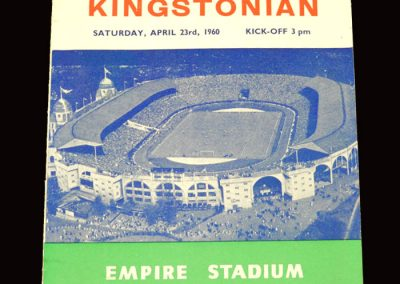 Hendon v Kingstonian 23.04.1960 - FA Amateur Cup Final