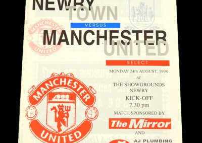 Man Utd v Newry Town 24.08.1998