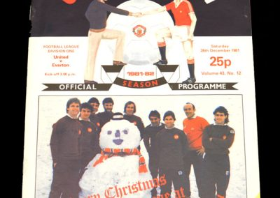 Everton v Man Utd 06.01.1982 (postponed from 26.12.1981)