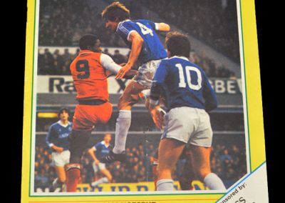 Everton v Spurs 30.01.1982