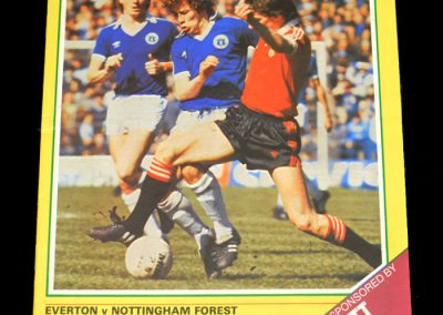 Everton v Notts Forest 20.04.1982