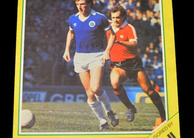 Everton v Arsenal 24.04.1982
