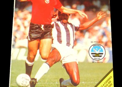 Everton v Swansea 01.05.1982