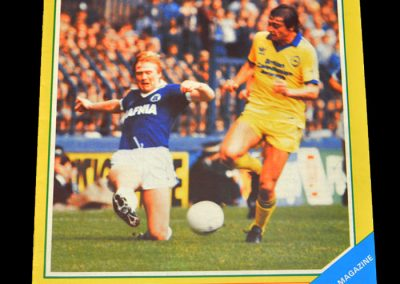 Everton v West Brom 26.09.1981
