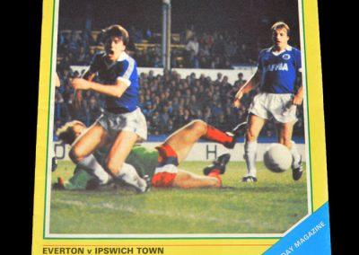 Everton v Ipswich 17.10.1981