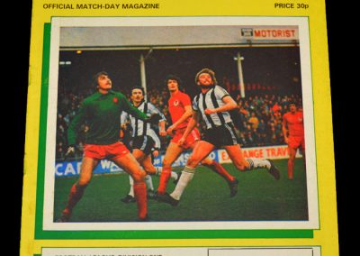 Everton v Notts County 24.11.1981