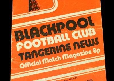 Man Utd v Blackpool 19.10.1974