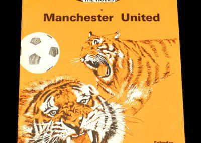 Man Utd v Hull 23.11.1974