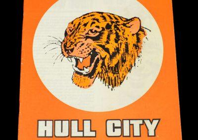 Hull v Notts Forest 19.08.1972