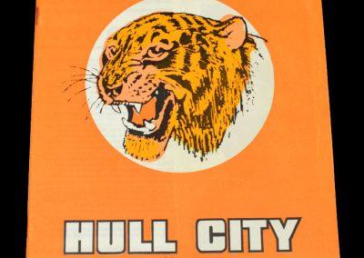 Hull v Leyton Orient 02.09.1972