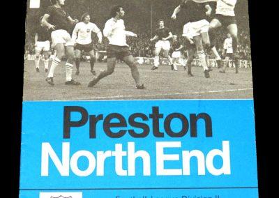 Hull v Preston 09.09.1972