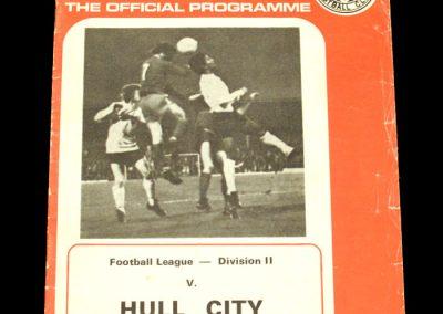 Hull v Middlesbrough 23.09.1972