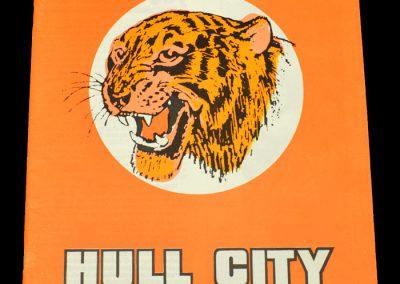 Hull v Swindon 30.09.1972
