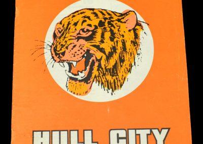 Hull v Norwich 03.10.1972