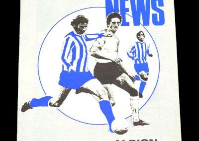 Hull v Brighton 07.10.1972