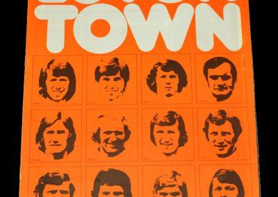 Hull v Luton 21.10.1972