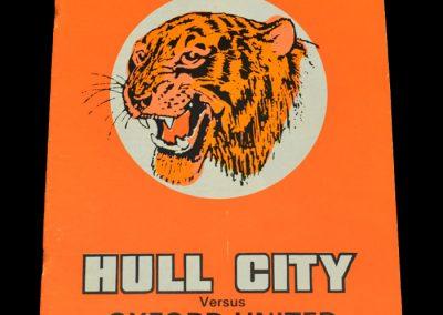 Hull v Oxford 27.10.1972