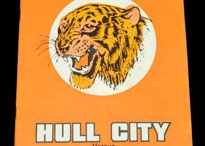 Hull v Sheff Wed 06.01.1973