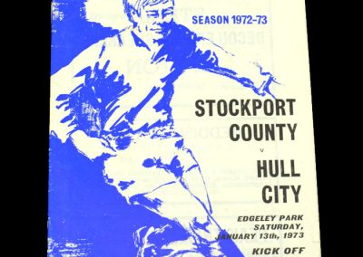 Hull v Stockport 13.01.1973 - FA Cup 3rd Round